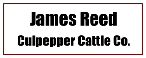 James Reed Culpepper Cattle Co