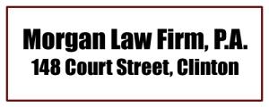 Morgan Law Firm Clinton AR