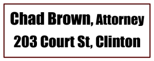 Attorney Chad Brown, Clinton AR