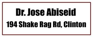 Dr. Jose Abiseid - Clinton, AR