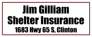 Jim Gilliam Shelter Insurance - Clinton AR