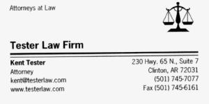 Tester Law Firm - Clinton, AR