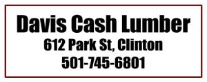 Davis Cash Lumber, Clinton AR