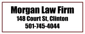 Morgan Law Clinton AR