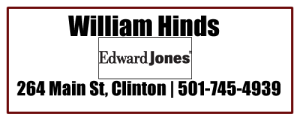 William Hinds Edward Jones Agent Clinton AR