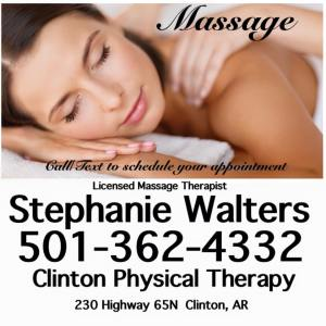 Stephanie Walters Clinton Massage Center
