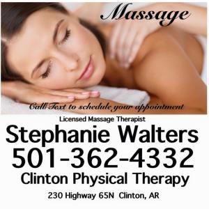 Stephanie Walters Clinton Massage Center