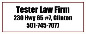 tester-law-firm-clinton-ar